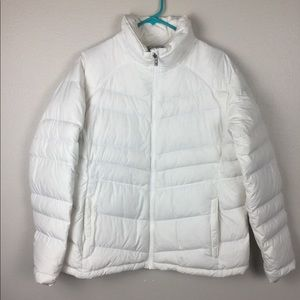 Columbia Quilted Down Hooded Jacket XL winter Coat